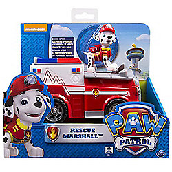 Paw Patrol Marshall Rescue Truck With Marshall