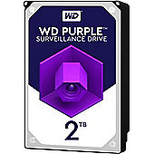 Western Digital 2 TB Purple WD20PURX 3.5 Internal Hard Drive SATA - 64 MB Buffer