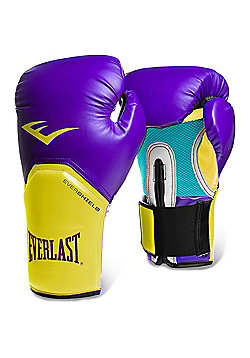 Everlast Pro Style Elite Training Boxing Gloves - Purple
