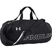 Under Armour Packable Duffel Sports Bag Black / White