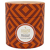 Shearer Candle Boxed Candle Orange and Cinnamon