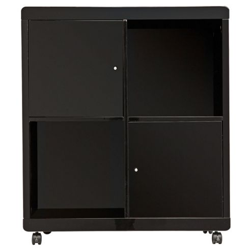 Viva Office Storage Cube , Black