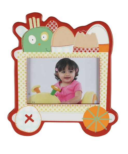 Mamas & Papas - Gingerbread Cart - Wooden Photo Frame