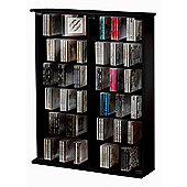 VCM Roma CD/DVD Storage Tower - Core Walnut