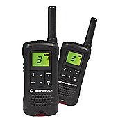 MOTOROLA TLKR T60 2 WAY RADIOS TWIN PACK (Walkie Talkie)