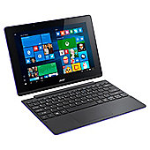 "Acer Switch SW3-013 10.1"" Intel Atom 2GB RAM 32GB SSD detachable 2 in 1 touchscreen Laptop - Purple"