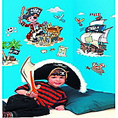 Pirates Giant Wall Stickers