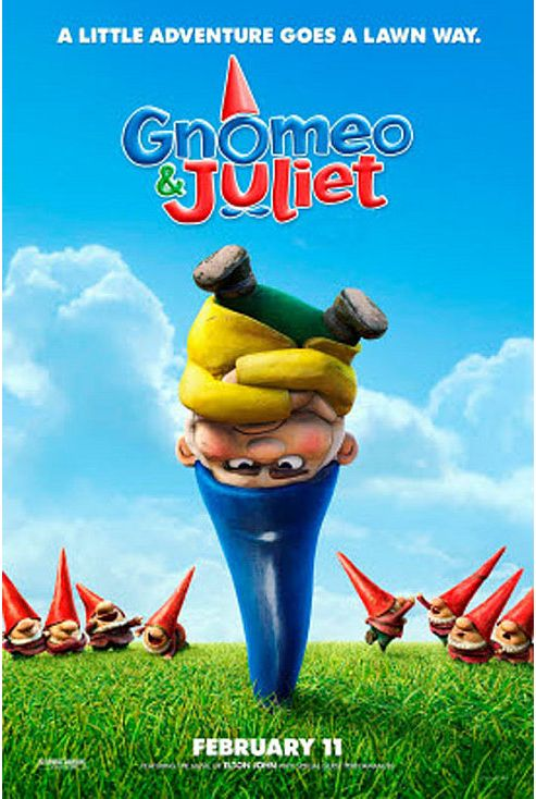 Gnomeo & Juliet Blu-Ray - Festive Sleeve