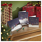 Religious Scene Christmas Cards, 24 pack