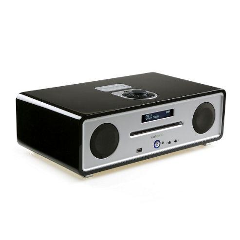 Ruark Audio R4i CD DAB FM Radio iPod Dock System, Midnight Black
