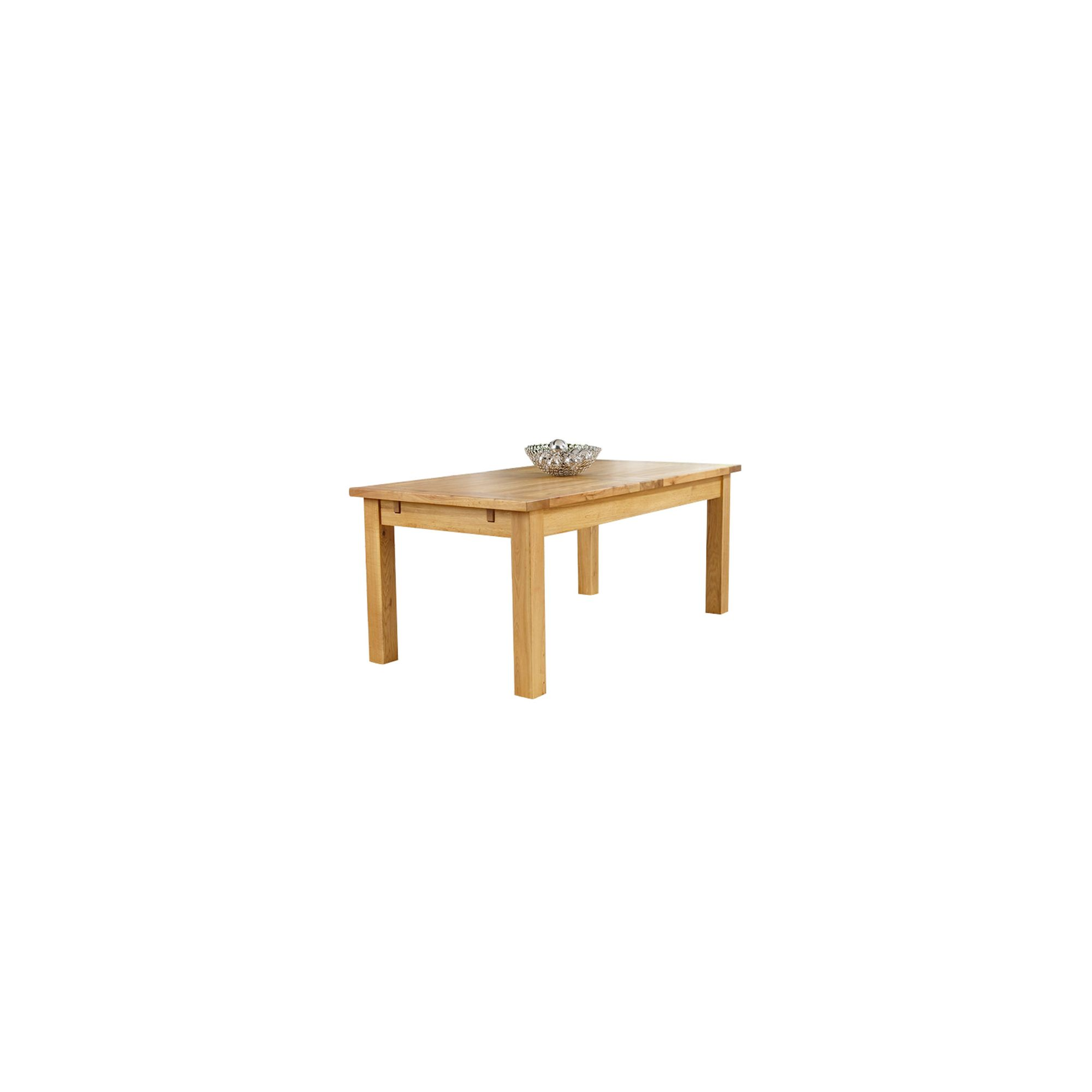 Mark Harris Furniture Rustique Classical Solid Oak Dining Table - 178 cm