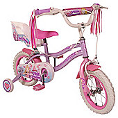 "Silverfox Pink Princess 12"" Girls Bike"