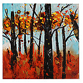 House Additions Tuscan Forest Canvas Art