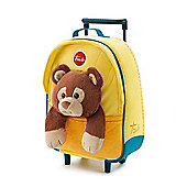 Trudi Kids Backpack Trolley Case - Bear