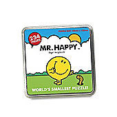 Mr Men 'Mr Happy' 234 Piece Jigsaw Puzzle Game