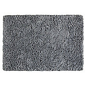 Tesco Soft Shaggy Rug Grey 120x170cm