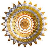 Iron Stop Designer Galactic Splash Sun Wind Spinner 10in