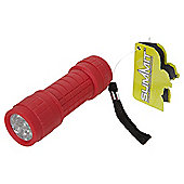 Summit Ultra Brite 9 LED Torch Red
