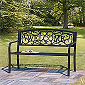 Suntime Welcome Cast Iron Bench