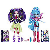 My Little Pony Equestria Girls - Rainbow Rocks Sonata Dusk And Aria Blaze Dolls Double Pack