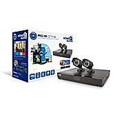 HomeGuard Pro HD 720p 4 Channel 2 Camera 1TB CCTV Kit