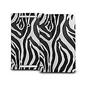 Orzly Multifunctioncal Stand & Type Case for ASUS VivoTab Note 8 - Zebra