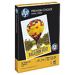 HP Premium Choice White A4 100Gsm Paper, 250 Sheets