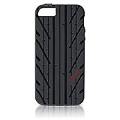 Gear4 Tyre Tread GT Clip-On Case Cover for iPhone 5/5S - Black