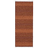 Swedy Sara Orange Rug - Runner 60 cm x 200 cm (2 ft x 6 ft 7 in)