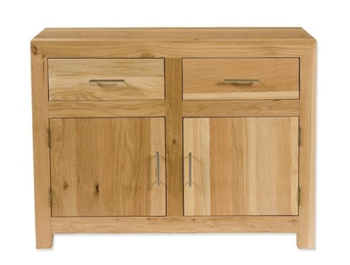 Elements Ashgrove Two Door Sideboard in Natural Lacquer