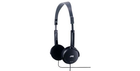 JVC HAL50B Foldable Light Weight Stereo Headphones