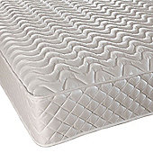 Comfy Living 3ft Single Luxury Damask Mattress