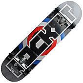Rocket Pro Logo Target Complete Skateboard