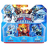 Skylanders Trap Team Triple Pack - Blades, Tidal Wave Gill Grunt, & Torch