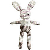 Natures Purest Natures Knits - Stripe Bunny, Bella (Pink)