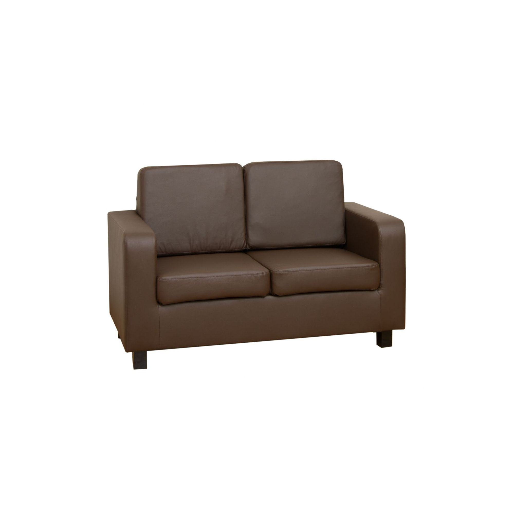 Home And Garden Furniture Sofa Source Rose Bonded Leather 3 Seater Sofa Brown Special Offers