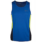 Pace Mens Running Vest Top - Electric blue