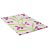 Ultimate Rug Co Floral Art Iris Rug - 160 cm x 230 cm (5 ft 3 in x 7 ft 6.5 in)