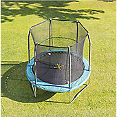 JumpKing Bazoongi 8ft Trampoline & Enclosure