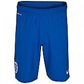 2014-15 England Nike Home Change Shorts (Blue) - Kids - Blue