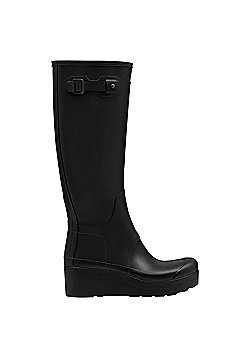 Hunter Low Wedge Wellies - Adult Size 4