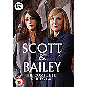 Scott & Bailey: Series 1-4 (DVD Boxset)