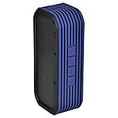 Divoom Voombox Portable Outdoor Bluetooth Speaker, Indigo Blue