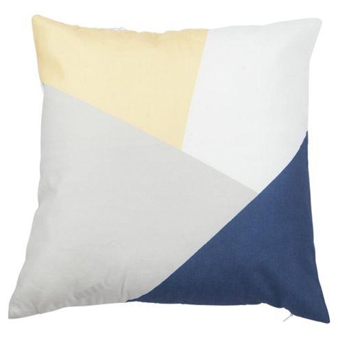 buy tesco colour block cushion from our cushions range tesco. Black Bedroom Furniture Sets. Home Design Ideas
