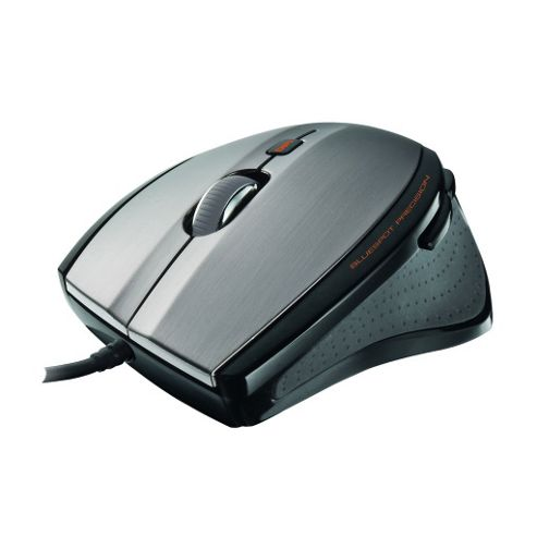 Trust MaxTrack Mouse - Wired - 6 Button(s) - USB - 1000 dpi - Scroll Wheel