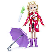 Moxie Girlz Raincoat Color Splash Doll Avery
