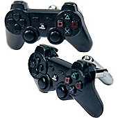 Sony Playstation 3d Ps3 Controller Model Cufflink Set With Swivel Bar, Black (993481) - Accessories
