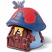 Schleich Smurf Houses Blue Smurf Cottage