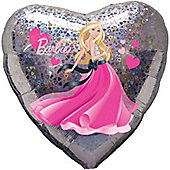18' Barbie Love Hearts Holographic Foil (each)