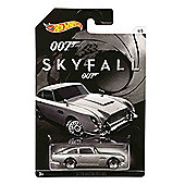 Hot Wheels James Bond 007 Skyfall 1963 Aston Martin DB5 Diecast Car